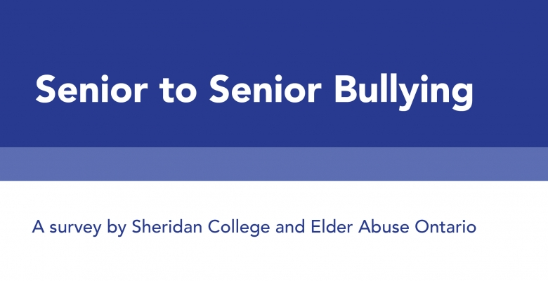 Senior to Senior Bullying Survey